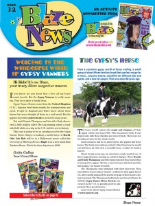 Blaze News features Gypsy Vanners
